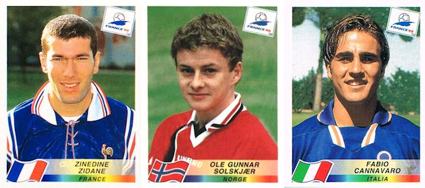 Guivarc/'h Francia N.170 FRANCE 98 PANINI World Cup Panini 1998