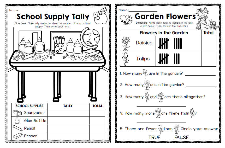 The Simplified Classroom First Grade Graphing made FUN – Graphing Worksheets for First Grade