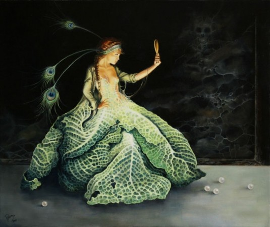 Séverine Pineaux 1960 | French Fantasy painter and Illustrator