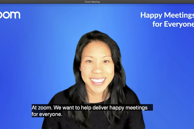 Zoom Automatic Closed Captioning
