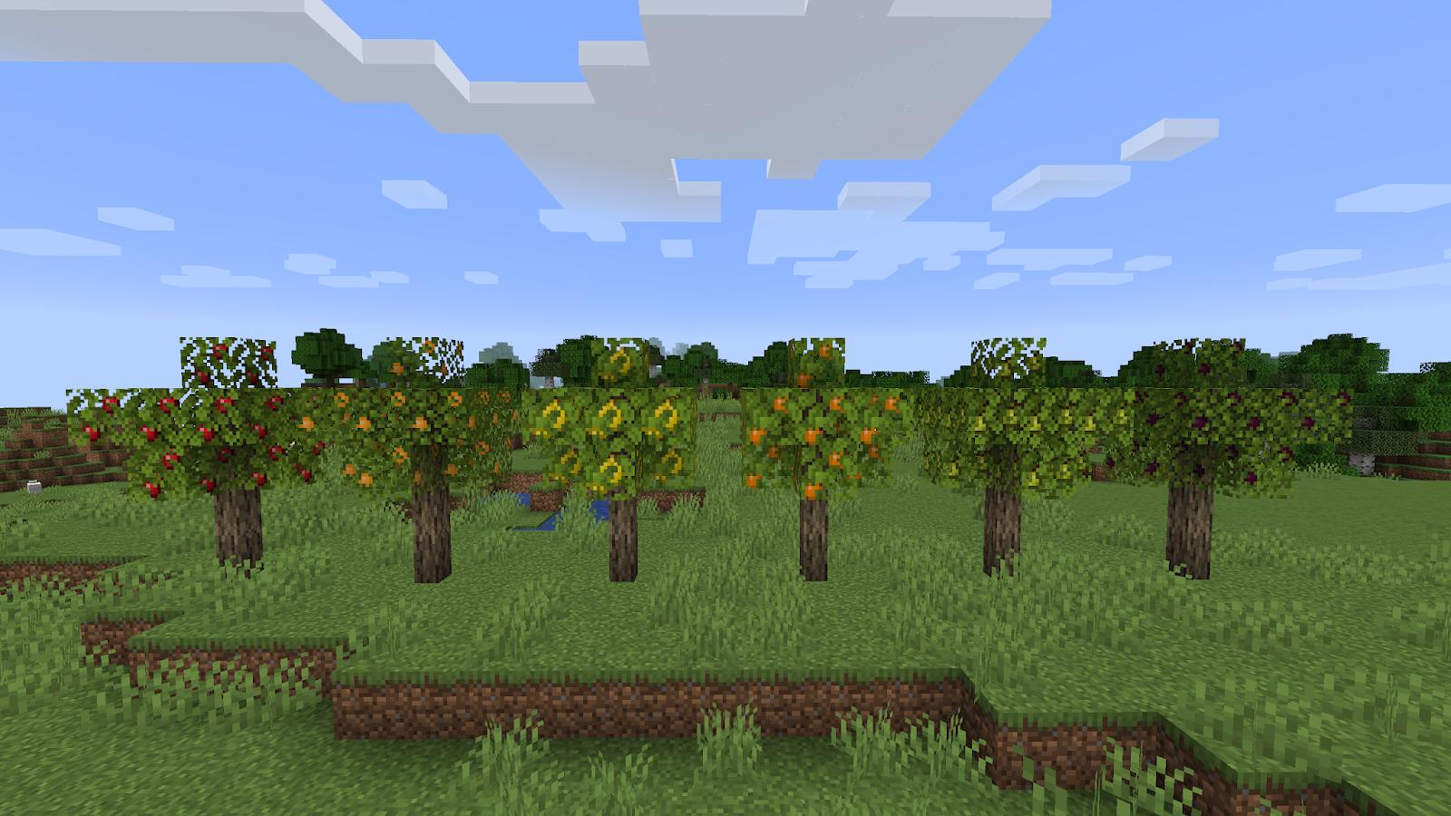 172 майнкрафт мод на фруктовые деревья #6