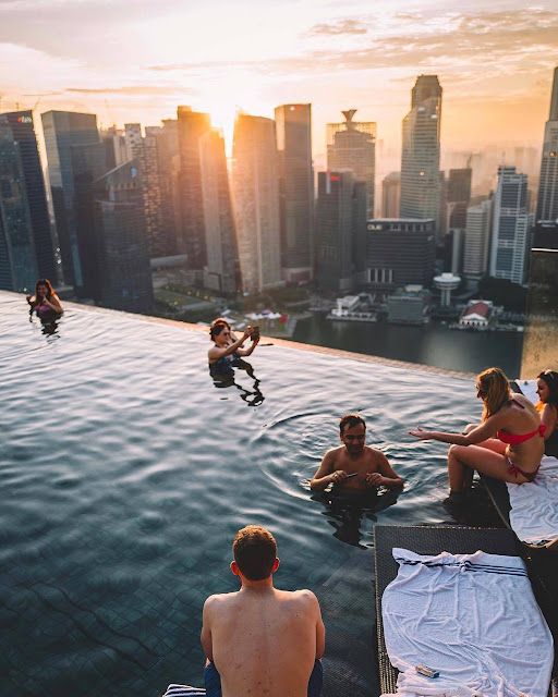 Marina Bay Sands, Singapore,Moments To Remember From Marina Bay Mall And Pool