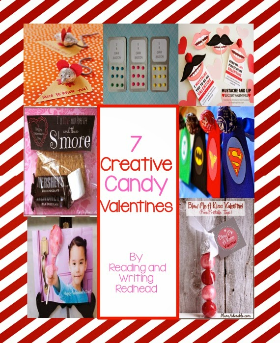 Creative Candy Valentines from Reading and Writing Redhead