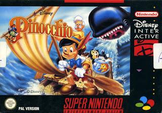Jogue Disney's Pinocchio para Snes online grátis