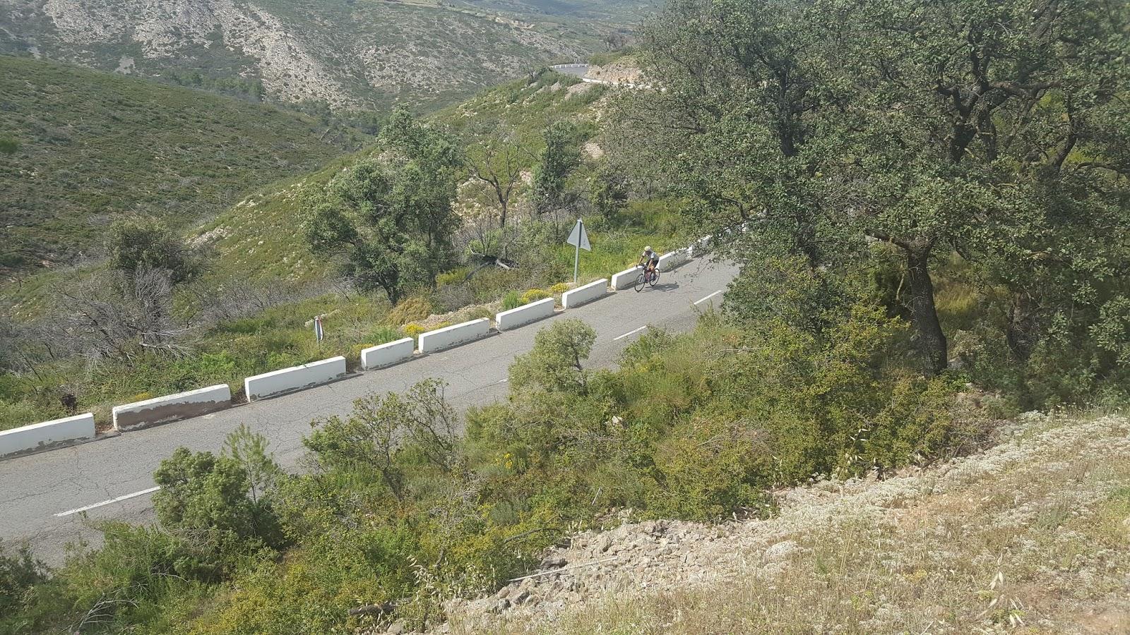 Cycling in Alto Palancia, Castellón, Spain
