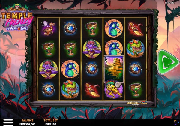 Main Gratis Slot Indonesia - Temple Frenzy Lightning Chase Relax Gaming