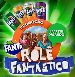 Cadastrar Promoção Fanta 2017 Rolê Fantástico 2017 Viagem Orlando