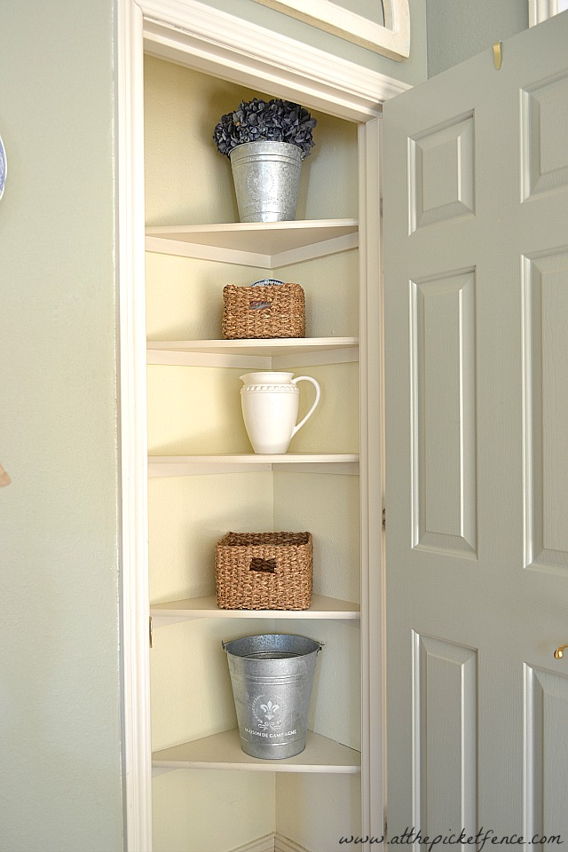 Under Stair Closet Turned Butler S Pantry At The Picket