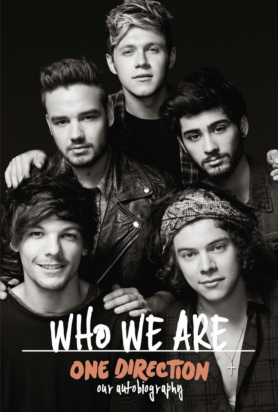 One Direction: 'Who We Are' book cover.
