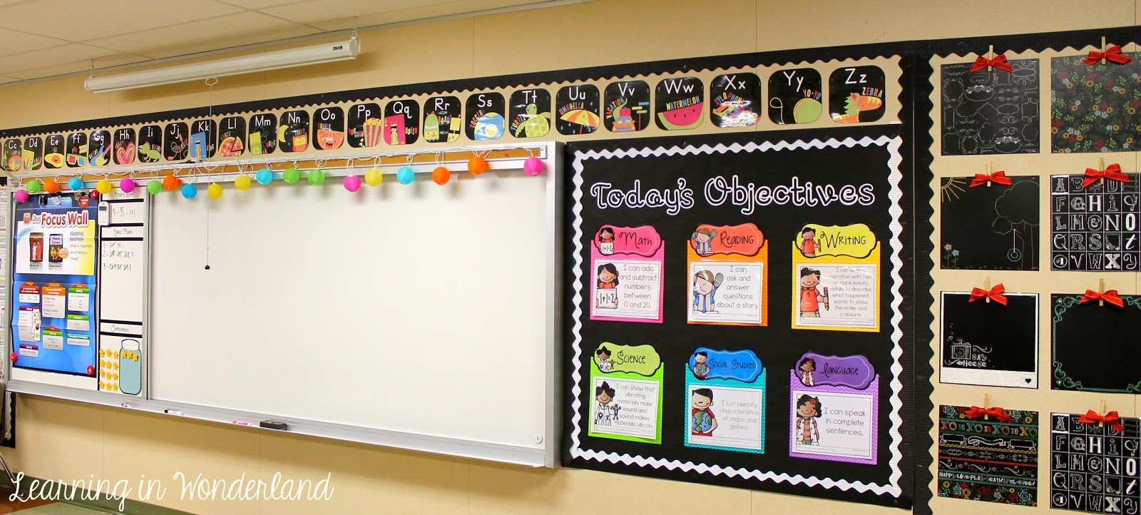 Classroom Decor And Learning ~ Classroom tour learning in wonderland