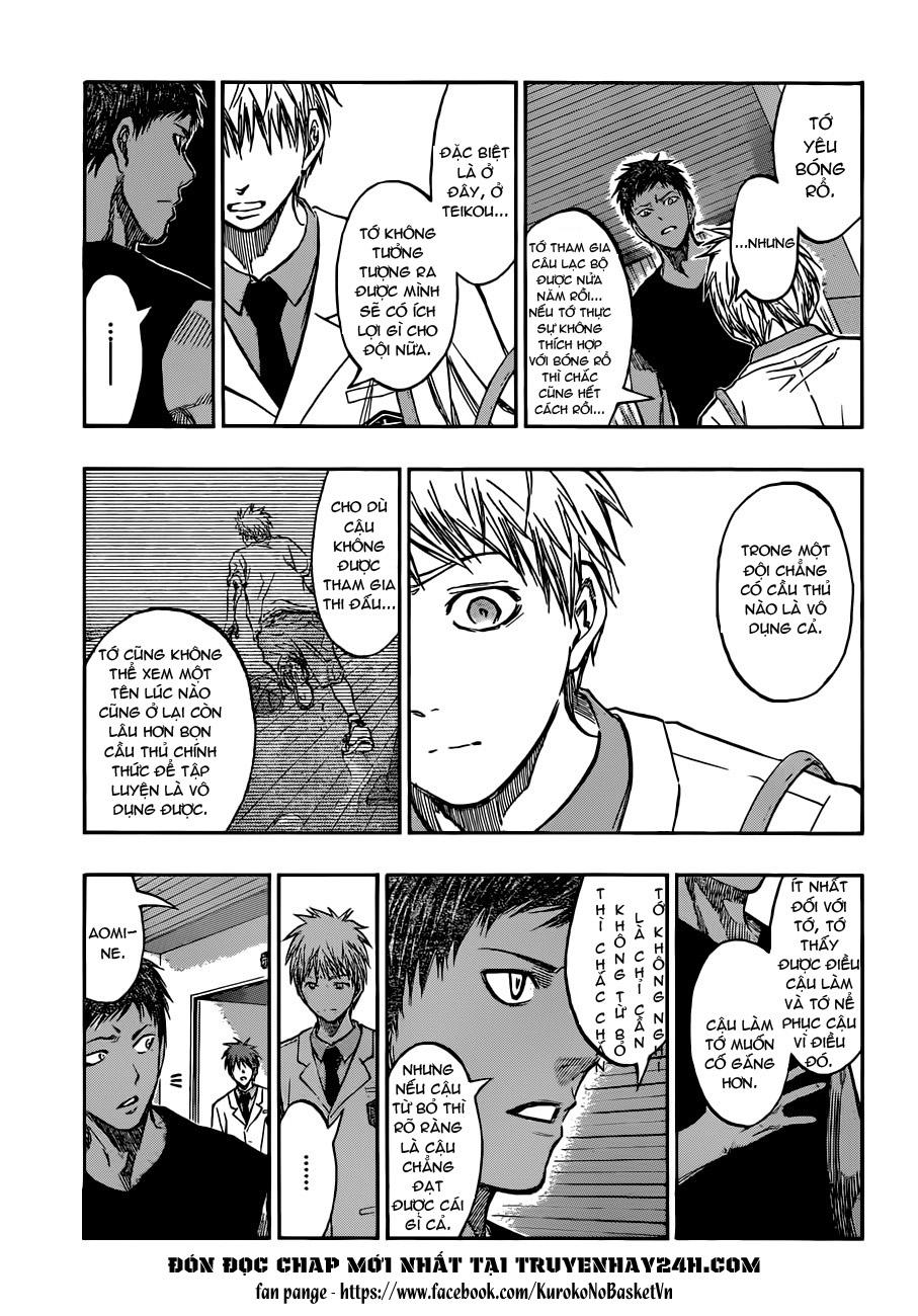 Kuroko No Basket chap 205 trang 17