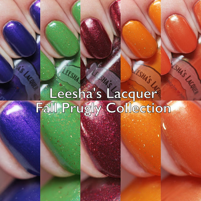 Leesha's Lacquer Fall Prugly Collection