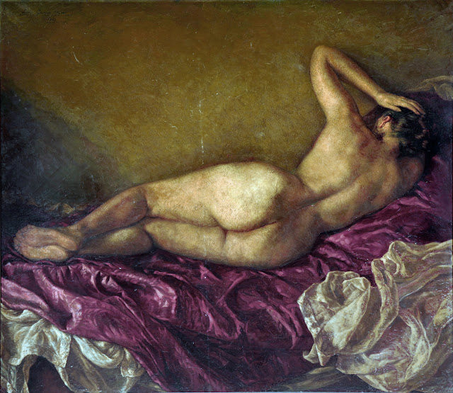 Luis García Oliver, Artistic nude, The naked in the art, Il nude in arte, Fine art, Painter Luis García Oliver