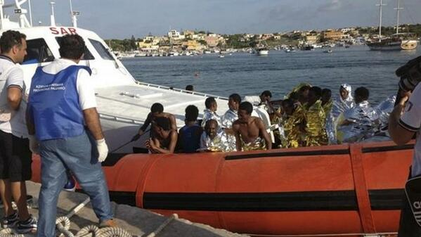 nigerians return libya