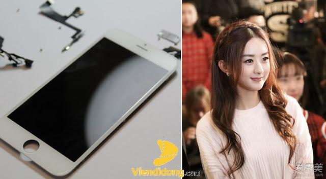 Cần mỗi ép kính iPhone 6S Plus lúc mặt kính nứt vỡ