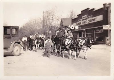 Pony Parade in Bad Axe Michigan