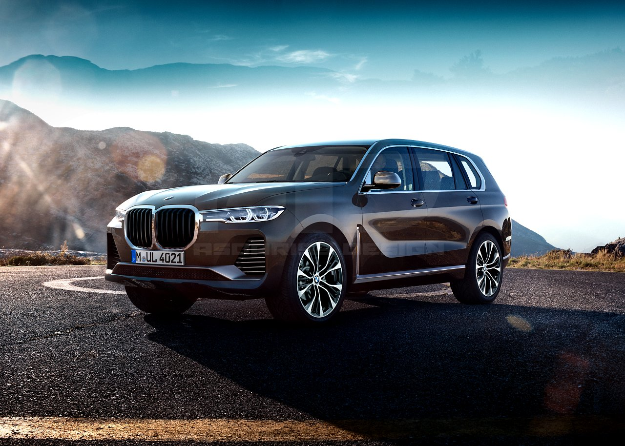 BMW X7 Production Version