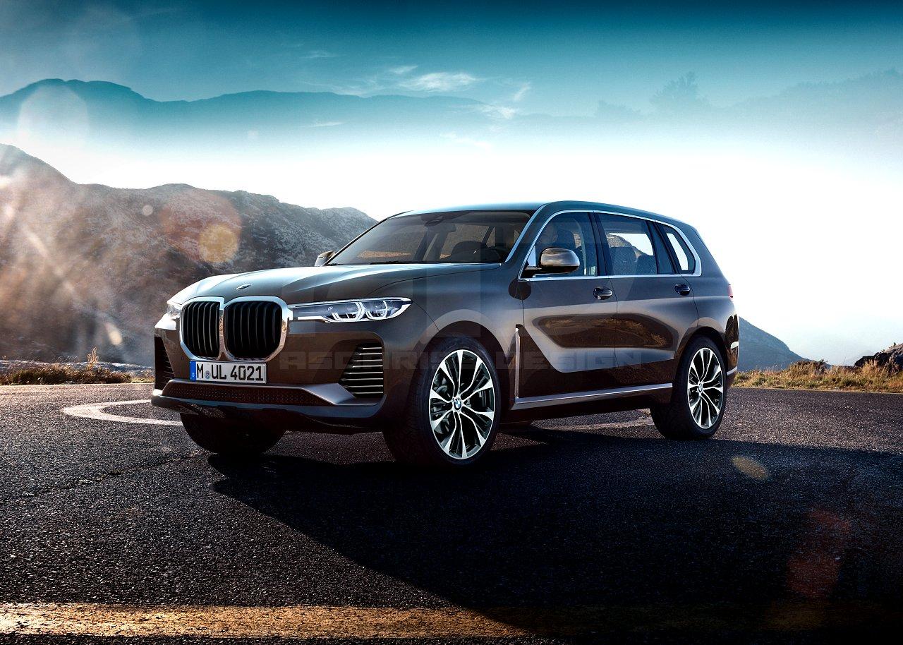 BMW X7 Production Version