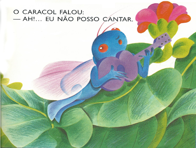 Livro O CARACOL, de Mary França e Eliardo França