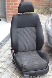 VW Golf MK4 GTI seat