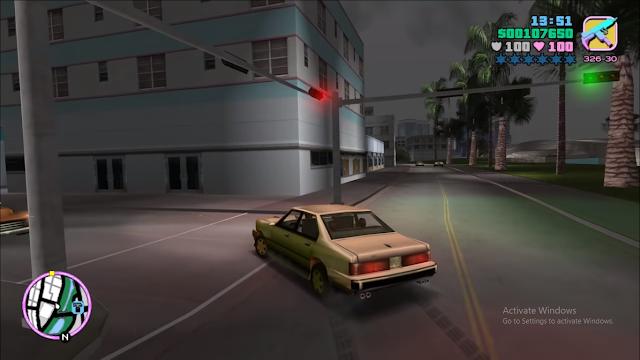 لعبة جاتا فايس سيتي GTA Vice City