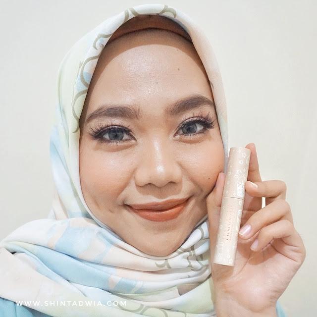 review hanasui mattedorable lipcream boba edition