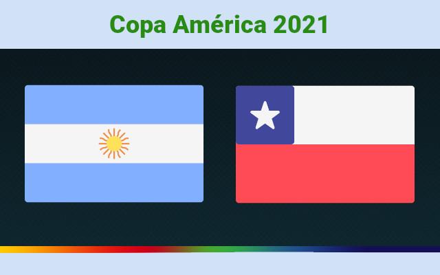 Argentina vs Chile Live   Copa America 2021   Prediction and Match Preview