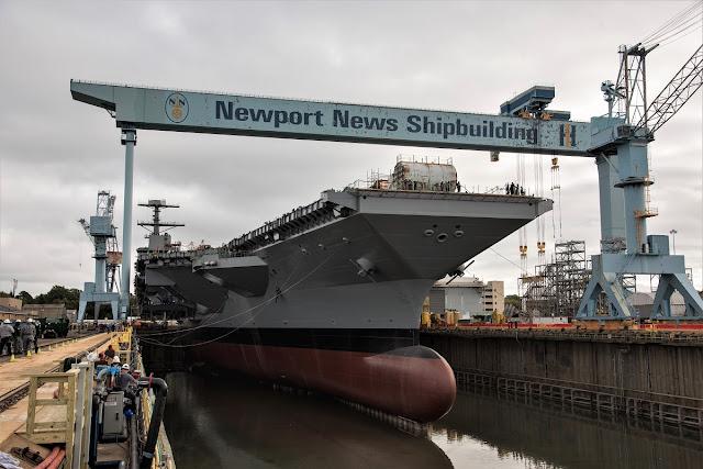 USS John F. Kennedy CVN-79 aircraft carrier