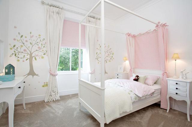 phòng ngủ nhẹ nhàng, trang nhã