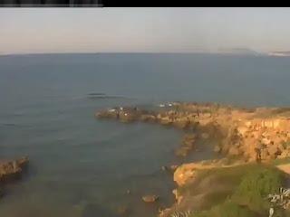 Alghero bay, beach Livecam