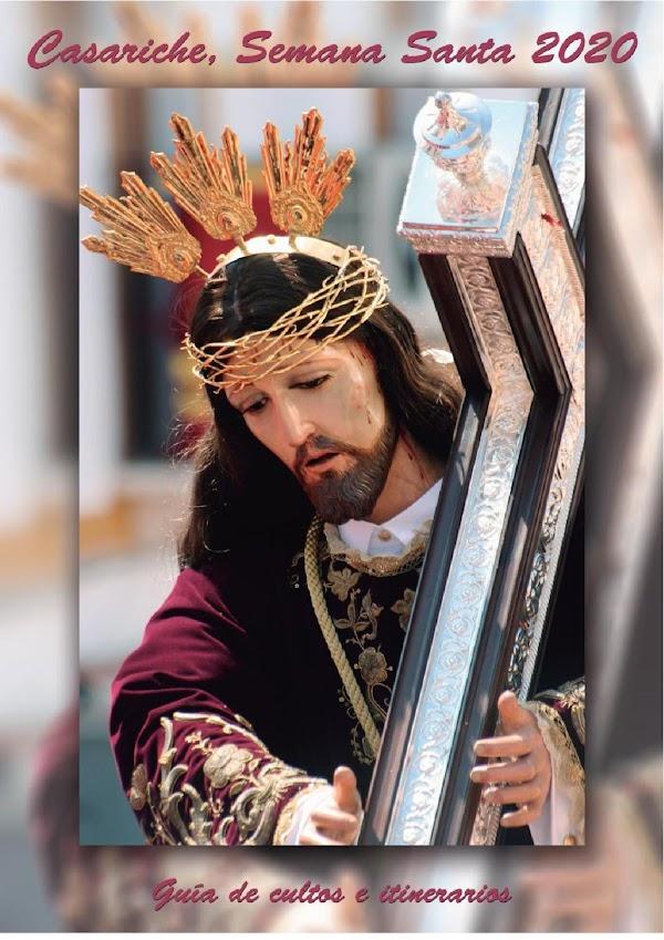 Programa con Horario e Itinerario de la Semana Santa de Casariche (Sevilla) 2020