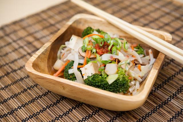 Receta: Tofu Asado con Brócoli