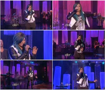Demi Lovato - Neon Lights (Live @ The Ellen Show) 2013 Hd 1080p Free Download