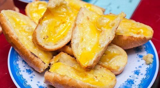 Bánh mì nướng bơ mật ong