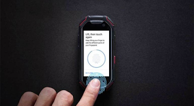 Meet The World's Smallest Fingerprint Sensor Phone