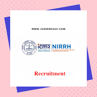 NIRRH Walk-IN 2019 for Research Assistant (4 Vacancies)