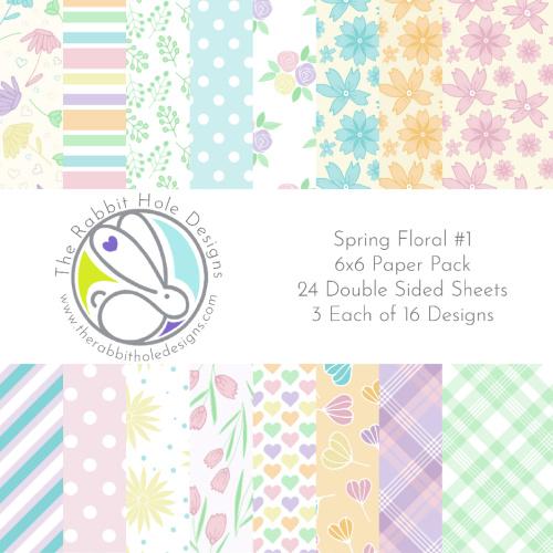 Spring Floral Paper Pack
