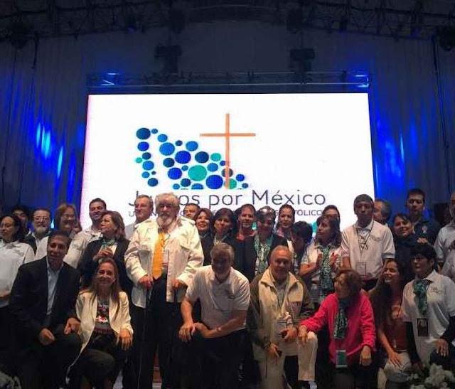 A coalizão Juntos por México obteve grande triunfo fazendo convergir esforços de 70 associações