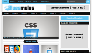 Download Template Bluesmulus Blogger