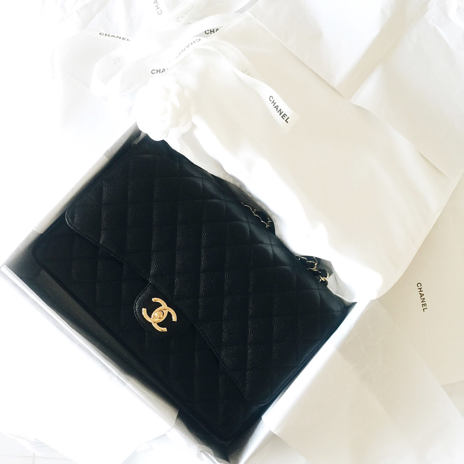 3e1c29f4797 Chanel Maxi Classic Flap Reveal!