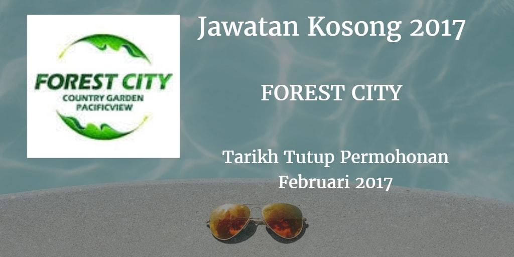 Jawatan Kosong FOREST CITY Februari 2017