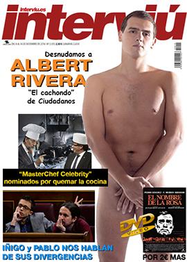 el villano arrinconado, humor, chistes, reir, satira, interviú, Rajoy, Albert Rivera, Pedro Sanchez, Pablo Iglesias, Iñigo Errejón