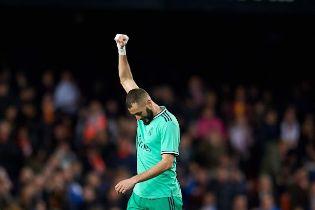 Valencia 1-1 Madrid: Benzema hits 95' equaliser to save Los Blancos from defeat