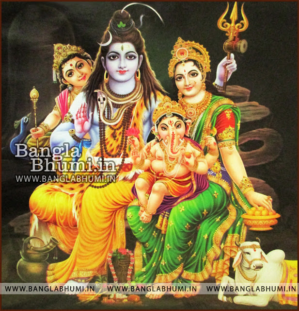 Lord Shiva Parvati Ganesh HD wallpapers Free Download - Indian GODs Wallpapers