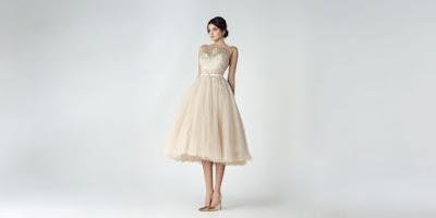 vestidos de coctel para bajitas