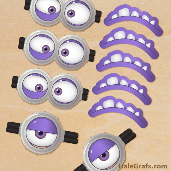picture about Minion Eyes Printable identified as Minions Googles, Absolutely free Printables. - Oh My Fiesta! within just english