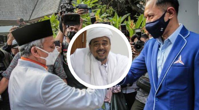 PKS-Demokrat Bertemu, Warganet: Coba Jenguk HRS, Bakal Banjir Dukungan Tuh!