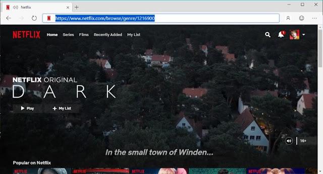 Cara Menggunakan Kode Rahasia Kategori (Genre) Netflix