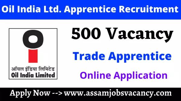 Oil India Limited Apprentice Recruitment 2021