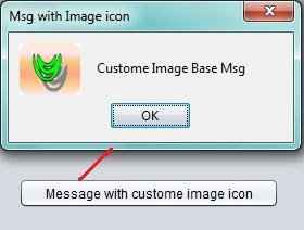 Custom Image base Message box in Netbeans